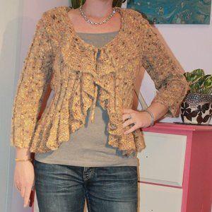 4/$20! Women's Ruby Road Tie-Front Sweater